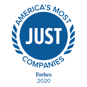 Forbes 2020 America's Most Just Companies