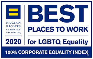 Human Rights Campaign Best Places to Work for LGBTQ Equality 2020