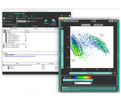 SeqGeqTM Single Cell Data Analysis Software Available Now